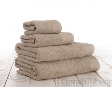 """Хавлиена кърпа 100% памук 540гр. """"Пясъчно"""""""