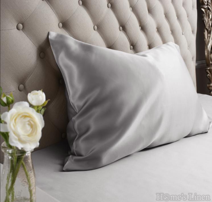 """Калъфка за възглавница от естествена коприна от копринени буби """"Diamond Silk"""" 22 m/m Classic Style"""