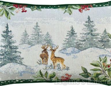 """Коледна декоративна възглавница """"Winter Scenery"""" Sander"""