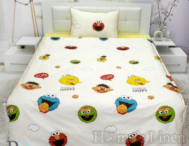 "Детско спално бельо 100% памук ""Мъпети"""