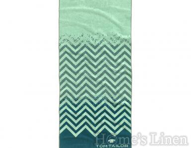 Плажна кърпа със зиг-заг мотив 100% памук Tom Tailor - различни цветове