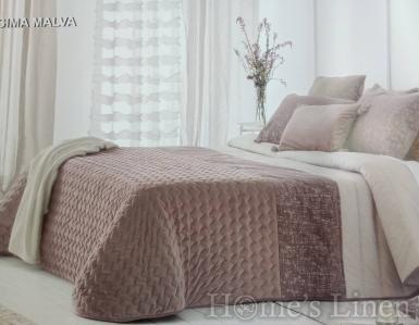 """Комплект луксозно шалте и декоративни калъфки жакард Antilo """"Sima"""""""