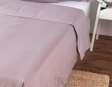 Комплект 2бр. калъфки за възглавница от 100% памучен сатен пепел от роза 40х60