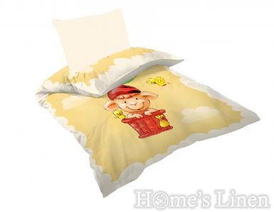 "Бебешко спално бельо 100% памук Ранфорс ""Балон"""