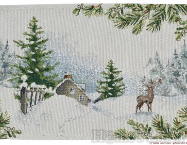 """Коледна подложка за хранене """"Wonderland"""" Sander"""