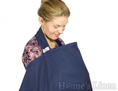 """Пончо / покривало за кърмене 100% памук """"Loving Mum"""" - 3 цвята"""