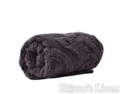 """Хавлиена кърпа 100% египетски памук """"Луиза"""" сиво"""
