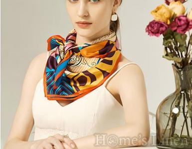"Луксозен шал от естествена коприна ""Mon Satis"", EM&EVE"