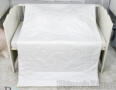 Бебешка олекотена завивка 100% памук