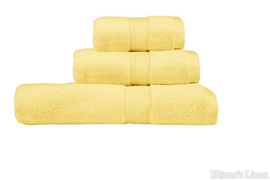 """Хавлиена кърпа """"Луксор"""" светло жълто"""