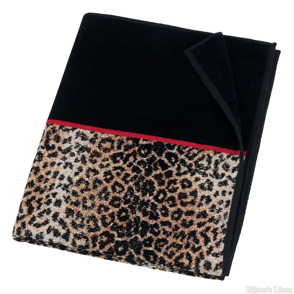 """Луксозна тъкана хавлиена кърпа 100% памук """"Safari"""" Feiler"""