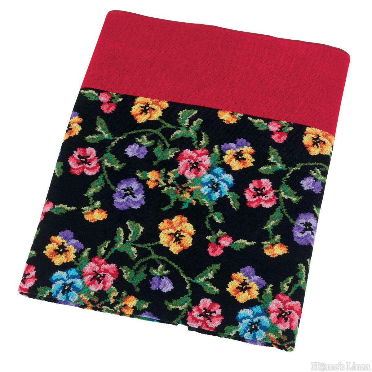 """Луксозна тъкана хавлиена кърпа 100% памук """"Fatima"""" Feiler"""