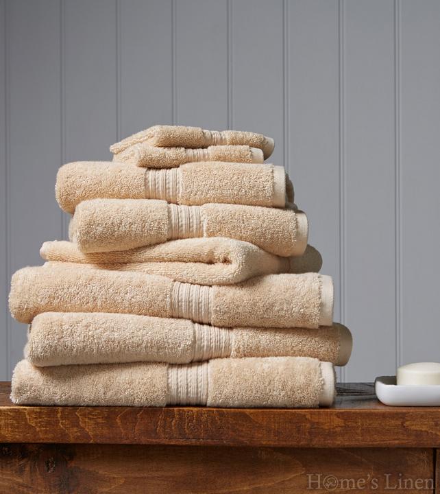 """Луксозна кърпа за баня 100% египетски памук """"Plush"""" Soft Gold Christy"""