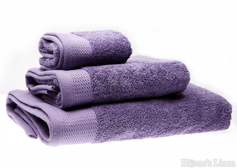 """Хавлиена кърпа 100% памук в 3 размера """"Светло лилава"""""""