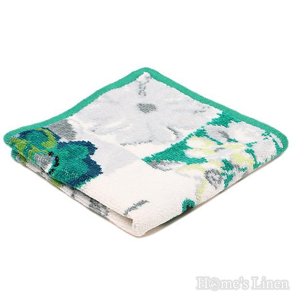 """Луксозна тъкана хавлиена кърпа 100% памук """"Valencia Aqua"""" Feiler"""