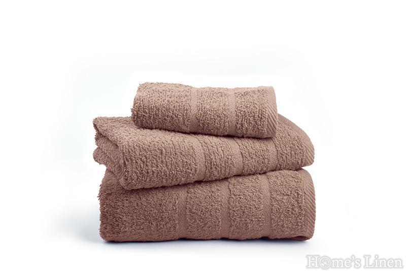 "Хавлиена кърпа ""Бейсик"" махагон"