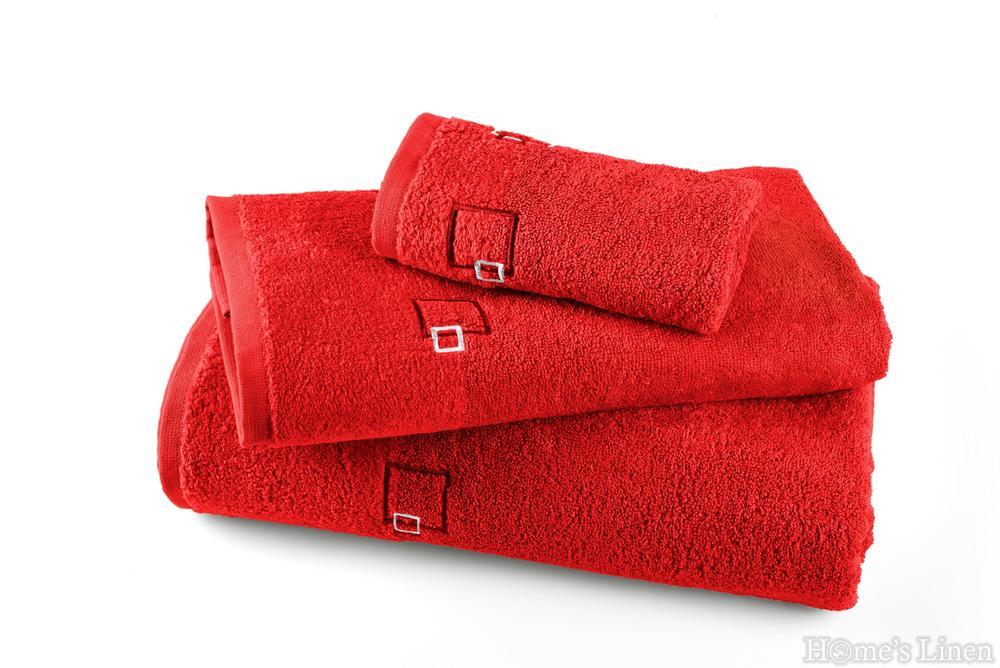 """Хавлиена кърпа """"Марбела"""" червено"""