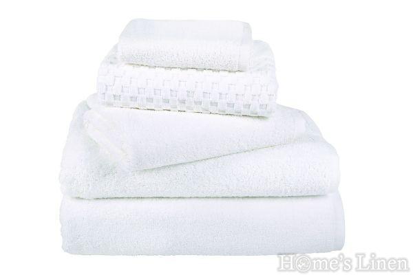 Хавлиени кърпи 100% памук бяло 500 гр/м2