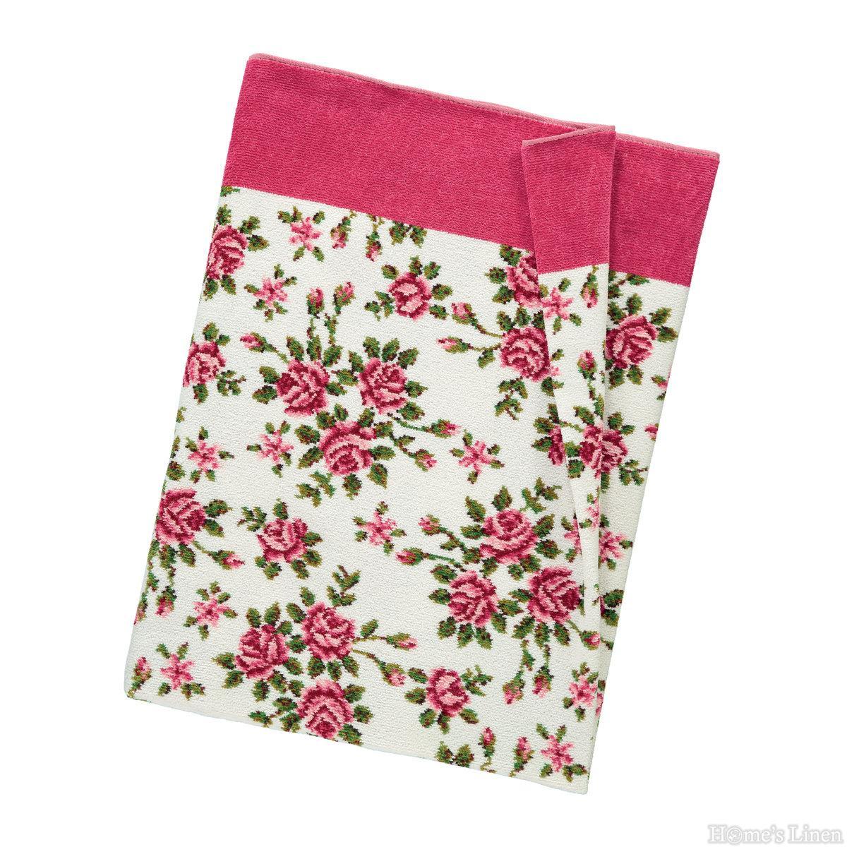 """Луксозна тъкана хавлиена кърпа 100% памук """"Miriam"""" Feiler"""