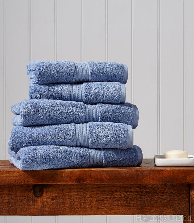 """Луксозна кърпа за баня 100% египетски памук """"Plush"""" Stonewash Christy"""